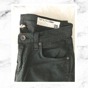 Rag & Bone The Dre Skinny Boyfriend Jeans Olive
